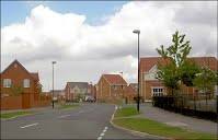 Modern Housing Estate Rotheram