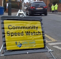 Monitoring vehicle speed in Beacon Street