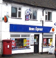 news agents in Beacon Street, Lichfield