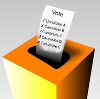 Pretend ballot box